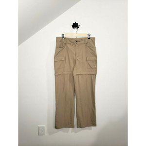 NWT The North Face Khaki Convertible Pants Size 12